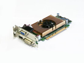 Leadtek GeForce GT 240 1GB DVI/VGA/HDMI PCI Express x16 LowProfile WinFast GT 240【中古】