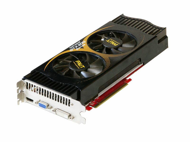 Palit GeForce GTX 275 896MB HDMI/VGA/DVI PCI Express 2.0 x16 NE3TX275FHD94-PM8126【中古】【送料無料セール中! (大型商品は対象外)】