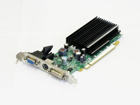 LeadTek GeForce 8400GS 256MB DVI/VGA/TV-out PCI Express x16 WinFast PX8400 GS TDH Silent【中古】