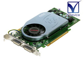 Leadtek Research GeForce 9600 GT 512MB DVI-I *2 PCI Express 2.0 x16 WinFast PX 9600 GT Power Efficient【中古】