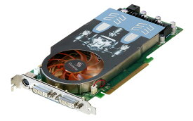Leadtek Research GeForce 9800 GT 512MB DVI-I *2/TV-out PCI Express 2.0 x16 WinFast PX9800 GT【中古】