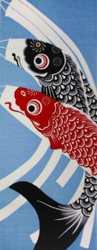【メール便送料無料】手ぬぐい 手拭い 四季彩布 5月 鯉のぼり 日本製(MADE IN JAPAN)端午の節句 こどもの日 こいのぼり 日本手拭い