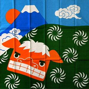 風呂敷 四季彩布 二巾(70cm)風呂敷 獅子舞 1月メール 名入れ対応 内祝 結婚祝 お祝い 長寿 引出物
