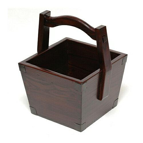 こだわりの火鉢道具 炭道具 炭斗箱(炭とり箱)【アンティーク調 炭取り 炭取り箱】