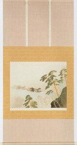 日本の名画を掛け軸に 春雨(はるさめ) 川合 玉堂 複製画掛軸