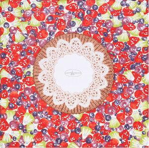 MISATO ASAYAMA(浅山美里) 綿小風呂敷(50cm) フルーツタルト風呂敷(ふろしき) 日本製 プチギフト お祝い 内祝 引越し挨拶 お弁当包み ラッピング ランチョンマット 内祝 結婚祝 お祝い 長寿 引出