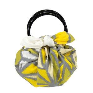 風呂敷 いちごバッグ 二巾モダンガールふろしき 和洋 麻の葉 グリーン ちょっとしたお買い物のお供やプレゼントに内祝 結婚祝 お祝い 長寿 引出物