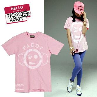 FADDY ROBOT T셔츠-4 Minute(포미닛트) 100%ROBOT 핑크