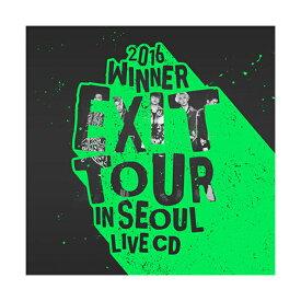 WINNER(ウィナー) 2016 WINNER EXIT TOUR IN SEOUL LIVE CD ★2CD+フォトブック(56P)+メンバー別ランダムフォトカード(1枚)★