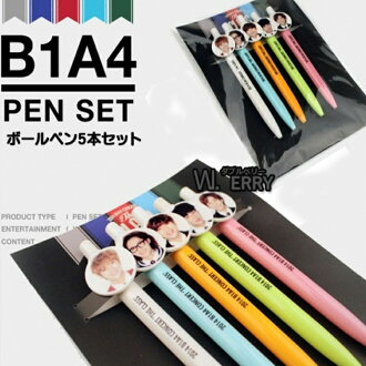 B1A4★볼펜 세트★비원에이포 공식 상품