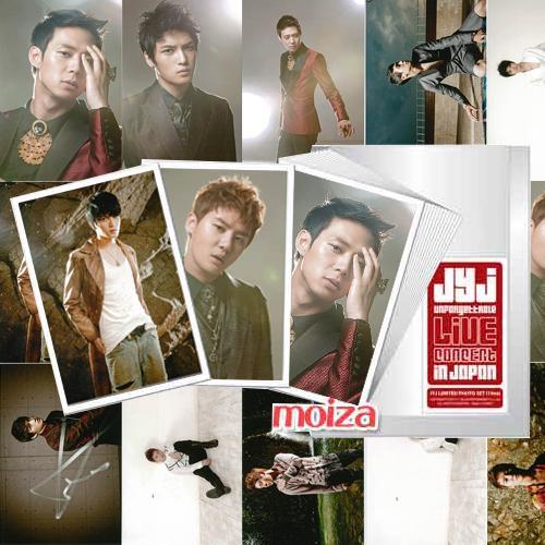 【在庫限定】 JYJ公式日本コンサートグッズ 生写真15枚セット