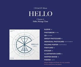 【初回限定ポスター丸めて発送】CIX 3rd EP Album 'HELLO'Chapter 3. Hello, Strange Time (2種 Hello/Strange Time VER) バージョン選択可能