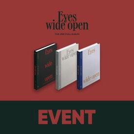 TWICE トゥワイス 2集 Eyes wide open 3種 バージョン選択可能 ポスターなしで格安