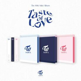 「3種セット」【withdrama特典付き】TWICE トゥワイス 10TH MINI ALBUM [Taste of Love] 3種 ポスター終了