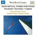 (CD) 吹奏楽のためのモニュメンタルな名曲集 / 指揮:マイケル・J・コルバーン / 演奏:アメリカ海兵隊バンド (吹奏楽)