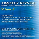 (CD) ティモシー・レイニッシュ・ライヴ・イン・コンサートVol. 5 / 指揮:ティモシー・レイニッシュ (吹奏楽)
