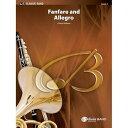 (フルスコアのみ) ファンファーレとアレグロ / 作曲:クリフトン・ウィリアムズ (吹奏楽)