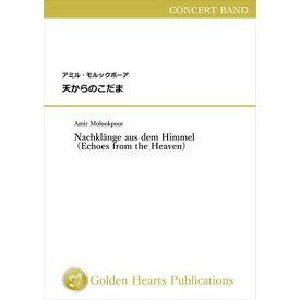 (楽譜) 天からのこだま / 作曲:アミル・モルックポーア (吹奏楽)(DX大判フルスコア)