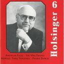 (CD) デイヴィッド・R・ホルジンガー作品集 Vol.6 / 演奏:ラトガーズ・ウインド・アンサンブル (吹奏楽)