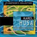 (CD2枚組) カレル・フサ作品集 / 指揮:ユージン・コーポロン / 演奏:ノース・テキサス・ウインド・シンフォニー (吹奏楽)