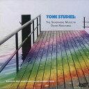 (CD) トーン・スタディ:デヴィッド・マスランカ サクソフォーン作品集 / 演奏:ニコラス・メイ (サクソフォーン)