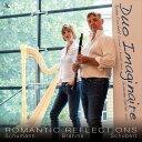 (CD) ロマンティック・リフレクションズ / 演奏:デュオ・イマジネール (クラリネット、ハープ)
