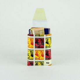 カードケース ポイントカード スリム【送料無料】 カードホルダー カード入れ タイベック 定期入れ パスケース 名刺入れ メンズ レディース 男性 女性 ベルギー製 made in Belgium card case card holder tyvek ギフト 祝い プレゼント 【NOWA Move Belgian Stamp】