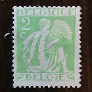 【送料無料】セレス メルキュール 1932年 昭和7年 6枚セット ベルギー切手