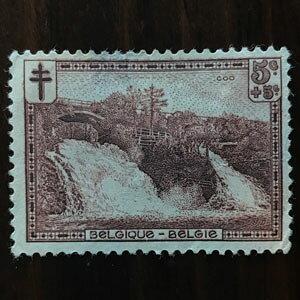 【送料無料】風景 1929年 昭和4年 6枚セット ベルギー切手