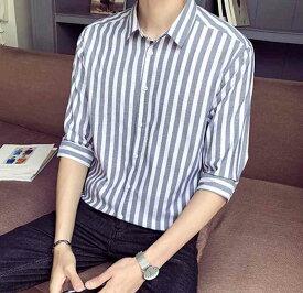 シャツ メンズ 大きいサイズ おしゃれ カジュアル 半袖 七分袖 カジュアルシャツ 黒 夏 白 アメカジ ボタン 夏服 ブランド 50代 20代 大人 お洒落 30代 カジュアル オフィス 40代 かっこいい ファッション セール