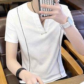 a2f66536fcd2c Tシャツ レディース オフィス カジュアル インナー 半袖 ブラウス 春 夏 トップスネック ブラック シンプル 黒 白