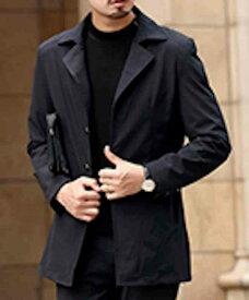 カジュアルジャケット メンズ アウター シンプル 黒 ミリタリージャケット 秋 フォーマル 春 大人 ビジネス コート 冬 無地 予約商品