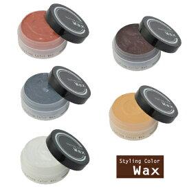 ビナ薬粧 スタイリングカラーワックス 全5色 ヘアカラーワックス ヘアカラーワックス シルバーワックス アッシュ ヘアカラー ワックス