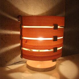 Navy WOOD LAMP kit LOOP [ ランプシェード キット 木製照明 経木 プレゼント 工作 ネイビーウッドランプキット 楽天 通販 口コミ]