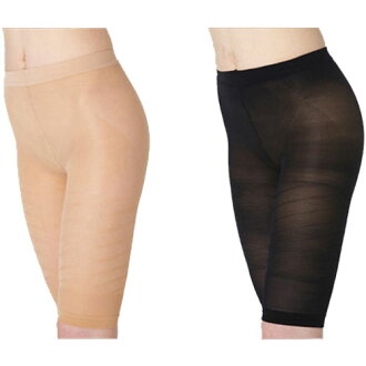 [black / beige] by favorite addition made in Japan (arrival at thigh tightening thigh gap pressure girdle buttock-lift ultrathin cloth inner mail order Rakuten word of mouth)!