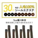4本分(8P)シールエクステ 30cm 最高級人毛100% 前髪シールエクステ カラー メッシュ