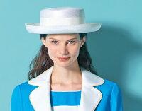 マリンスタイルにぴったり!ホワイトサマー帽子