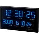 【送料無料】ノア精密 felio 大型デジタルLED掛時計 アギラ FEW120-BK【smtb-u】