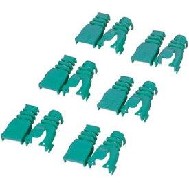 エレコム ELECOM コネクタ保護カバー LD-ABGN6(グリーン)
