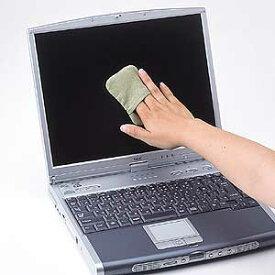 サンワサプライ ディスプレイクリーニングパッドグリーン CD-CC23G