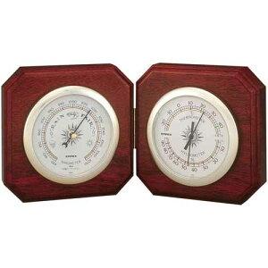 エンペックス EMPEX 気象計 気圧計 温湿度計 デュエット BM-718