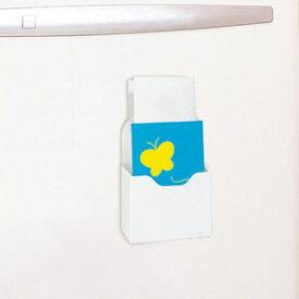 ナカバヤシ マグネット小物ボックス A6サイズ ホワイト MKB-A6-W