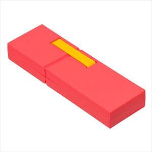 ナカバヤシ ディスプレイペンケース Mサイズ ピンク PCN-DP02PN
