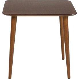 【送料無料】【メーカー直送】不二貿易 ダイニングテーブル エクレア 75×75cm ダークブラウン 92601
