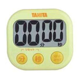 TANITA タニタ でか見えタイマー 99分59秒計 TD-384 イエロー BTI8201