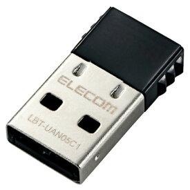 【送料無料】エレコム ELECOM 小型USBアダプター Bluetooth4.0 Class1 Windows10対応 ワイヤレス LBT-UAN05C1▽▼