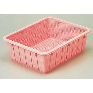 新輝合成 トンボ 抗菌カラー角ざる 54型 ピンク AZL1554PI