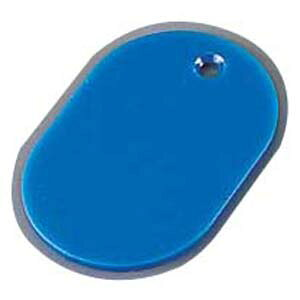 スチロール 番号札(無地) 大 ブルー(50枚入) PBV0501