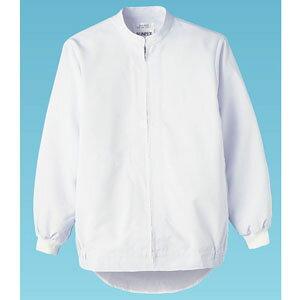 長袖ジャンパー 男女兼用 ホワイト 白 L WA-660 SZY1204 【サーヴォ サンペックスイスト 業務用 ユニフォーム 制服】