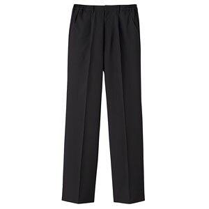 パンツ 男性用 ブラック 黒 LL BF-5436 SPV2404 【サーヴォ サンペックスイスト 業務用 ユニフォーム スラックス ズボン 制服】